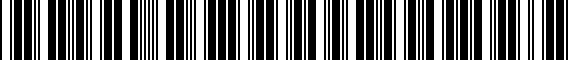 Barcode for ZAW071120BDSP